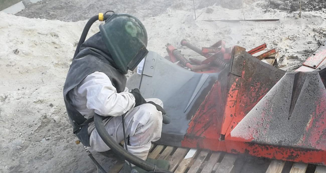 proces oczyszczania skorodowanych metali